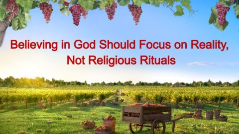 "The Word of God ""Believing in God Should Focus on Actual Practice, Not Religious Rituals"""