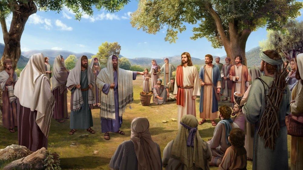 Pharisees in Condemning the Lord Jesus
