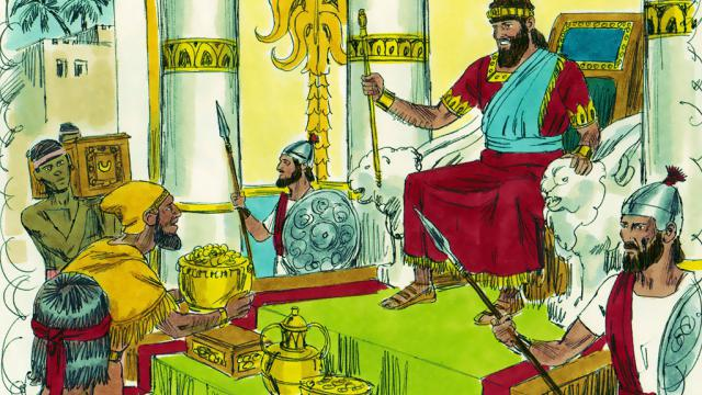 Solomon's Riches (1 Kings 10:14-29)
