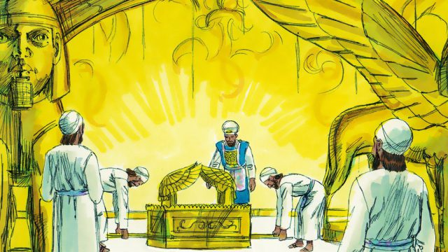 1 Kings 8:1-11 The Ark Enters the Temple