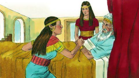 David Renews His Oath to Bathsheba