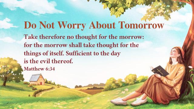 Matthew 6.34