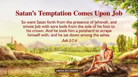 Satan's Temptation Comes Upon Job. A Commentary on Job 2:7–8