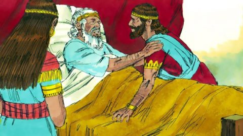Solomon Anointed King