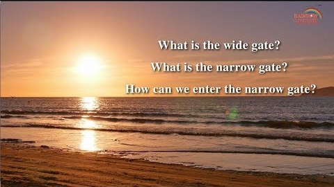How Can We Enter the Narrow Gate? Commentary on Matthew 7:13–14