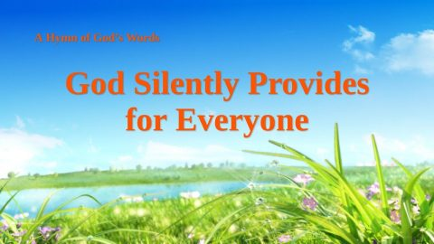 "Christian Hymn Video ""God Silently Provides for Everyone"""
