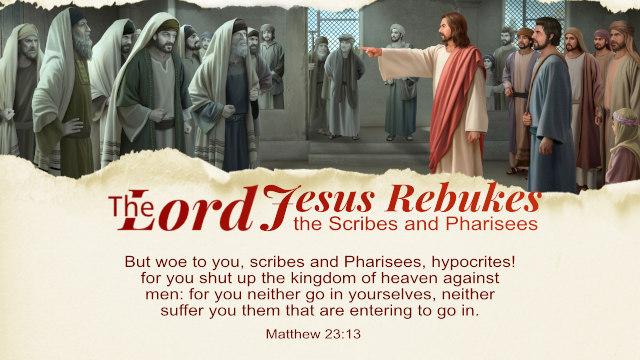 Matthew 23:13
