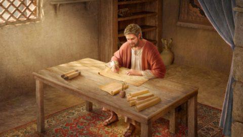 Paul writes letter
