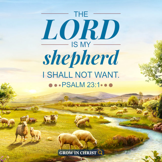 Jehovah Is Our Shepherd — Psalm 23:1
