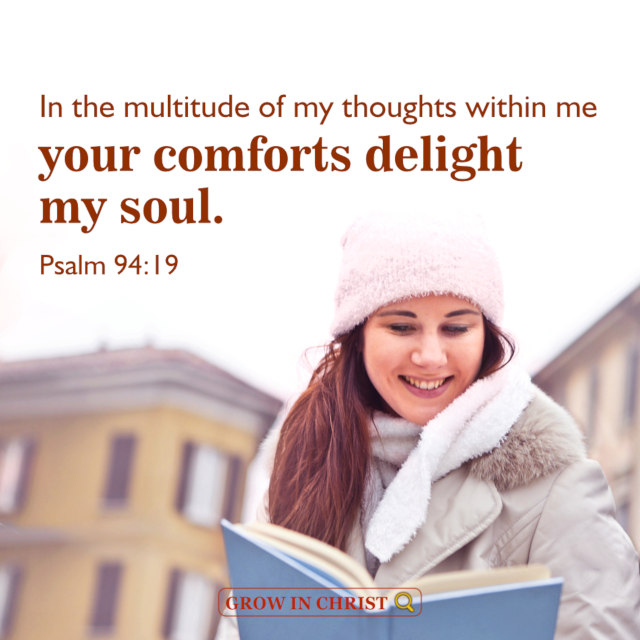 God Is My Comfort — Psalm 94:19