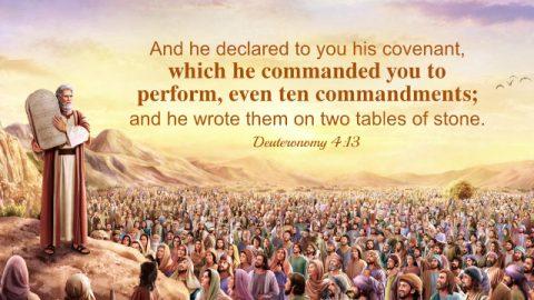 Bible Verses About the Ten Commandments
