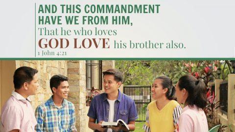 1 John 4:21