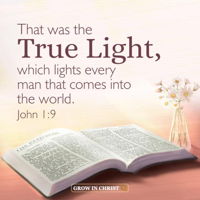 The True Light Illuminates Every Man of  the World — John 1:9