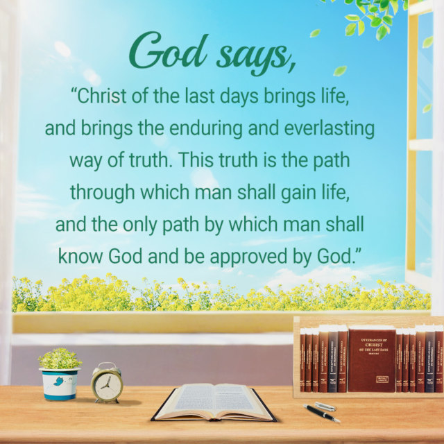Only Christ of the Last Days Can Bring Man the Way of Eternal Life
