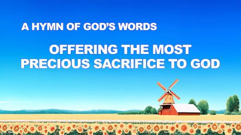 "English Christian Devotional Song ""Offering the Most Precious Sacrifice to God"""