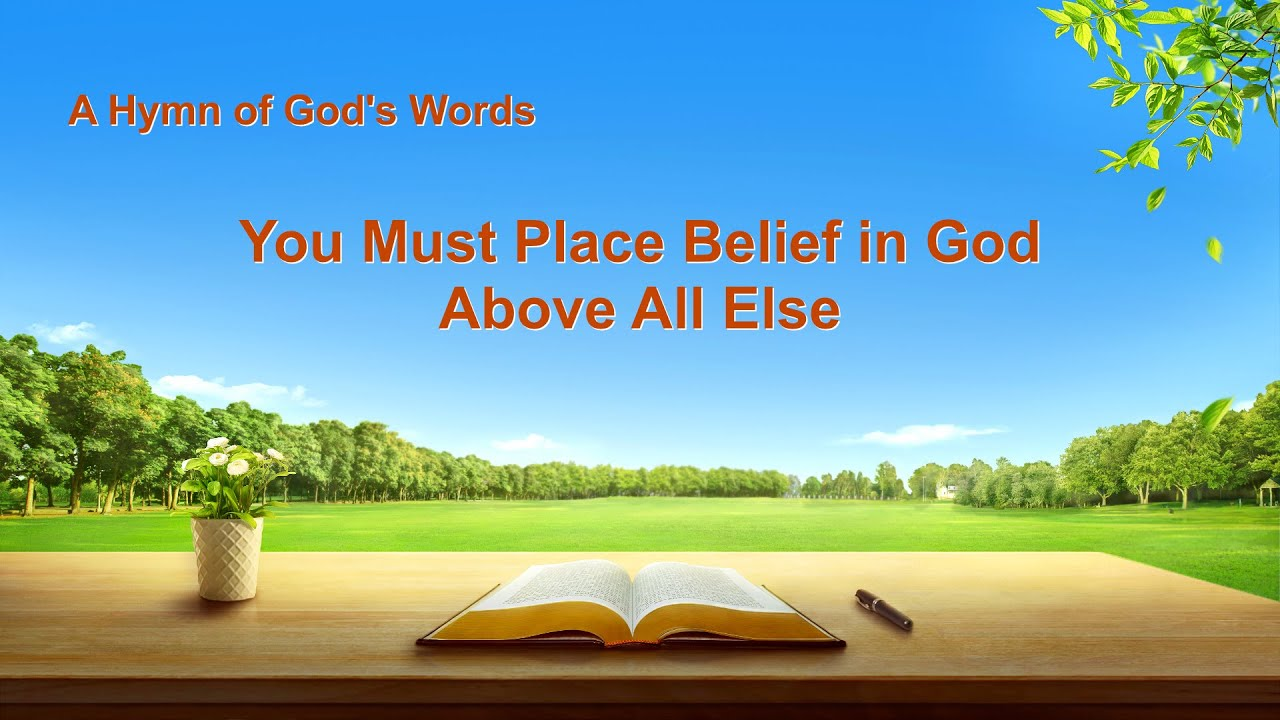 """New English Gospel Song """"You Must Place Belief in God Above All Else"""""""