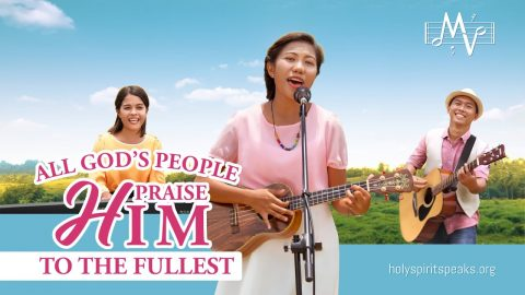 """2019 Christian Music Video   """"All God's People Praise Him to the Fullest"""" (English Song)"""